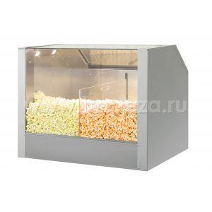 Витрина для попкорна напольная насыпная ТТМ VTP2-090N