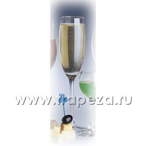 Бокал для шампанского (флюте) PLAZA 195мл D 7см h 23см