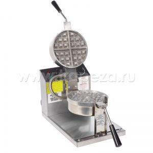 Кинотеатр, фанфуд, стритфуд вафли и корн доги Gold Medal Products Round Belgian Waffle Baker