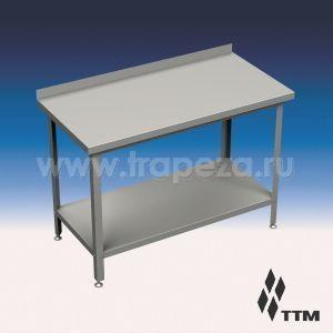 Столы производственные с бортом, разборный каркас ТТМ СР1-140/6П