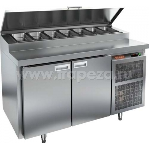 Стол холодильный для пиццы HICOLD PZ1-11/GN (1/3Н)