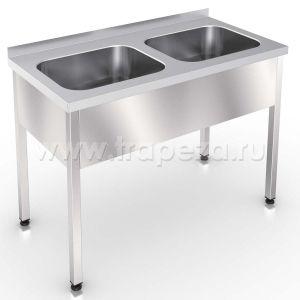 ВМЦ2-107 - ванна моеч., 2 цельнотян.мойки, разб.