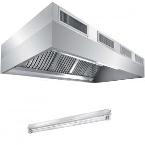 Вентиляционное оборудование зонты пристенные вытяжные Metaltecnica FB 5120240+LA1/58
