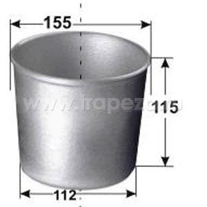Форма для выпечки хлеба D 15 ЦВЕТЛИТ-Р 17-бх1