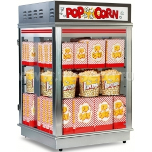 Попкорн витрины, диспенсеры для покорна Gold Medal Products Astro Popcorn Staging Cabinet