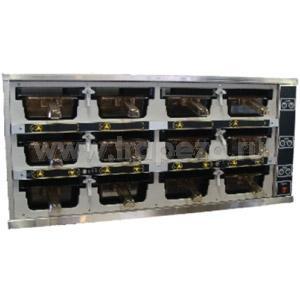 Шкаф-мармит электр., таймеры с 1-ой стороны, 12 ячеек (3х4), 12крышек