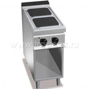 Тепловое оборудование для приготовления плиты Berto's E9PQ2M