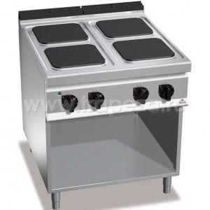 Тепловое оборудование для приготовления плиты Berto's E9PQ4M