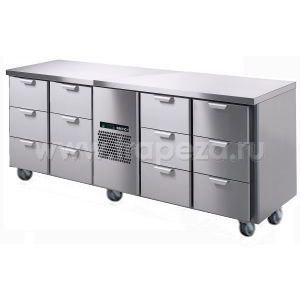 Стол холодильный SKYCOLD PORKKA CL-GNH-3-3-CHE-3-3+SP18493+SP18406-15(12)