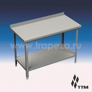 Столы производственные с бортом, разборный каркас ТТМ СР1-090/6П