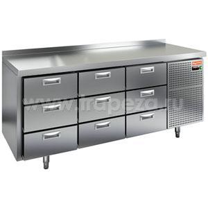 Стол холодильный HICOLD GN 333/TN