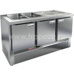 Стол холодильный саладетта HICOLD SLE3-111GN O БЕЗ КРЫШКИ