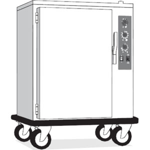 Шкаф тепловой-регенератор, 20GN1/1, передвижной, эл.-мех.управление