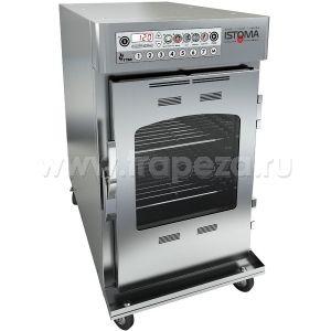 Печь низкотемпературного приготовления электрическая, функция копчения, термощуп,  8GN1/1, 100л