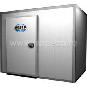 Камера морозильная замковая,   9.20м3, h2.60м, 1 дверь расп.левая, ППУ100мм