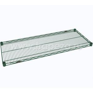 Полка решетчатая для стеллажа, 1524х457х31мм, сталь с покрытием Metroseal3-Microban, для влажных помещений
