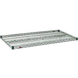 Полка решетчатая для стеллажа,  760х610х31мм, сталь с покрытием Metroseal3-Microban, для влажных помещений