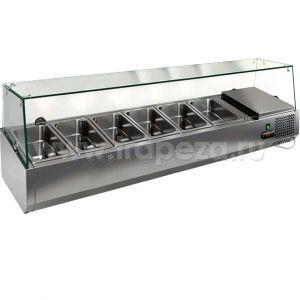 Витрина холодильная настольная HICOLD VRTG 1390 к PZ3