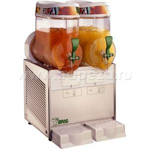Аппарат для замороженных напитков (гранитор), 2 ванны по  6л (б/у (бывший в употреблении)) Bras QUARK 2