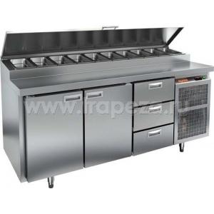 Стол холодильный для пиццы HICOLD PZ2-113/GN (1/6H)