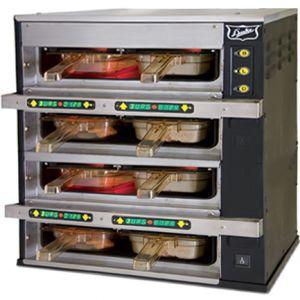 Шкаф-мармит электр. инфракр., таймеры с 2-х сторон,  8 яч. (4х2), блок упр.справа