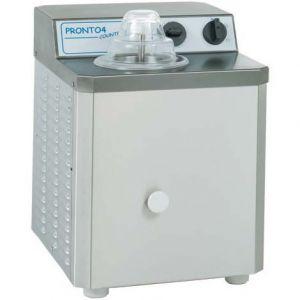 Фризер для твердого мороженого настольный, 1 ванна 0.6л, 3.5кг/ч, серый, охл.воздушное, барабан вертикальный