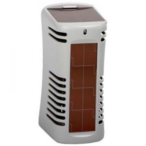Диспенсер для освежителя воздуха ARRIBA TWIST солнечная батарейка настен. пластик, серый