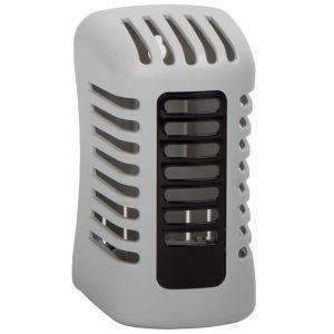 Диспенсер для освежителя воздуха ARRIBA TWIST механический настен. пластик, серый