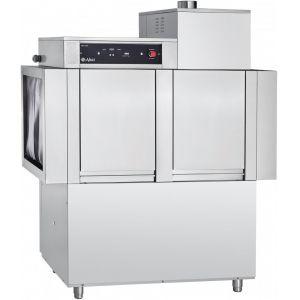 Машина посудомоечная конвейерная, 500х500мм,  95кор/ч, левая, доз.опол.+моющ., моющий насос, рекуператор