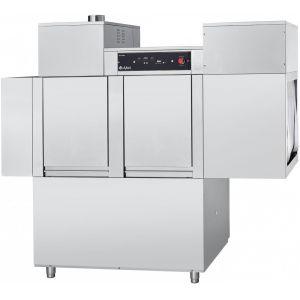 Машина посудомоечная конвейерная, 500х500мм, 111кор/ч, левая, доз.опол.+моющ., моющий насос, рекуператор, сушка