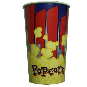 V 46 «Красный», стакан бумажный для попкорна
