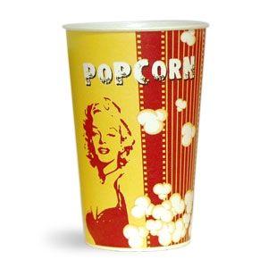 V 46 «Монро», стакан бумажный для попкорна