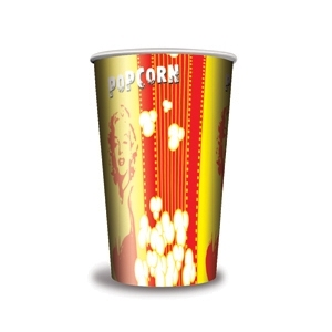 V 32 «Монро»,  стакан бумажный для попкорна