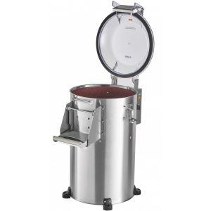 Картофелечистка электрическая, напольная, загрузка 17кг, 300кг/ч, корпус нерж.сталь, 380V