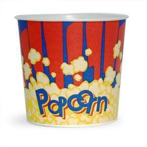 V 85 «Красный», стакан бумажный для попкорна