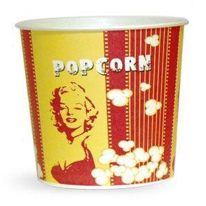 V 85 «Монро», стакан бумажный для попкорна