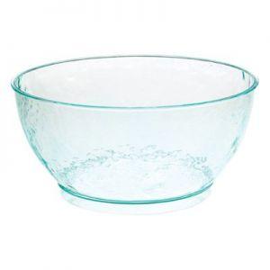 Чаша D 20см h 9,5см 2000мл (набор 60шт) LARGE, пластик прозрачно-зеленый
