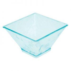 Чаша L 9см w 9см h 5,5см (набор 200шт) MINI, пластик прозрачно-зеленый