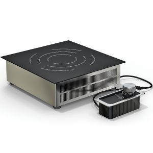 Плита индукционная, 1 конфорка 1х3.5кВт, встраиваемая, 360х380х120мм