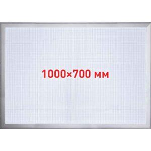 Лайтбокс тонкий 1.0х0.7м, рама алюминиевая