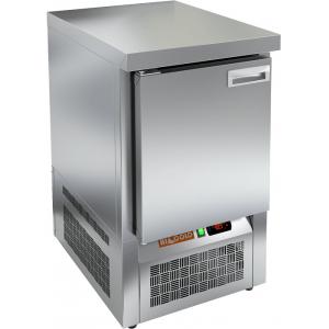 Стол холодильный, GN1/1, L0.57м, без борта, 1 дверь глухая, ножки, -2/+10С, нерж.сталь, дин.охл., агрегат нижний