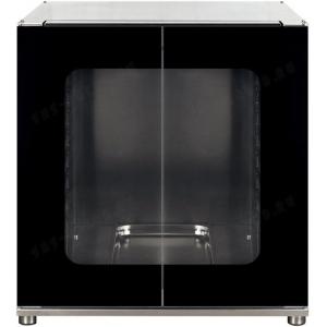 Шкаф расстоечный для печей ALFA241,  8x(600х400мм) или 8GN1/1, 2 двери стекло, +40/+45С, нерж.сталь, 220V, ножки, электромех.упр., увлаж.