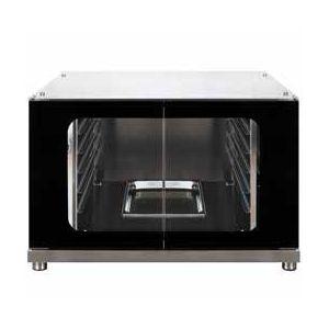 Шкаф расстоечный для печей ALFA341, 12x(600х400мм) или 12GN1/1, 2 двери стекло, +40/+45С, нерж.сталь, 220V, ножки, электромех.упр., увлаж.