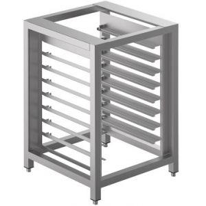 Подставка под печи конвекционные ALFA 43, ALFA45,  600х600х900мм, без столешницы, открытая, направляющие для 8х(435х320мм)