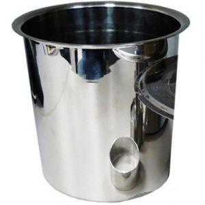 Чаша внутренняя д/подогревателей 2191/4211/2205/2196EX, 3.7л, нерж.сталь
