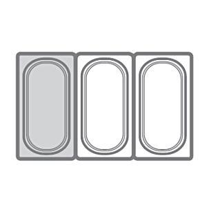 Гастроемкость GN1/3х150, поликарбонат