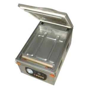Машина для вакуумной упаковки, настольная, 1 камера 390х260х50мм, электронное управление, 1 шов 260мм