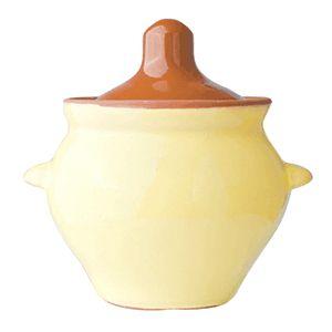 Горшок для запекания 500 мл «Грибок», желт. коричневый