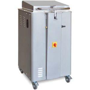 Тестоделитель полуавтоматический напольный, загрузка 16кг, 20 порций (150-800г), сталь окраш., гидравлический рычаг