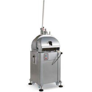 Тестоделитель-округлитель полуавтоматический напольный, загрузка 1.5/3.9кг, 15 порций (100-260г), сталь окраш., 3 матрицы